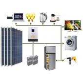 Sabit Solar Paket Sistem 4