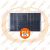 Lexron Poli Kristal Panel 40Wp