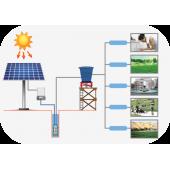 Solar Sulama Paketi 4Hp